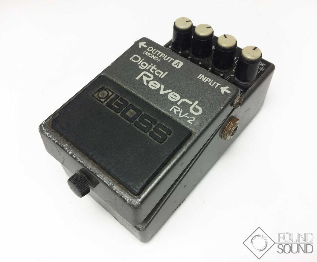 BOSS RV-2 Digital Reverb
