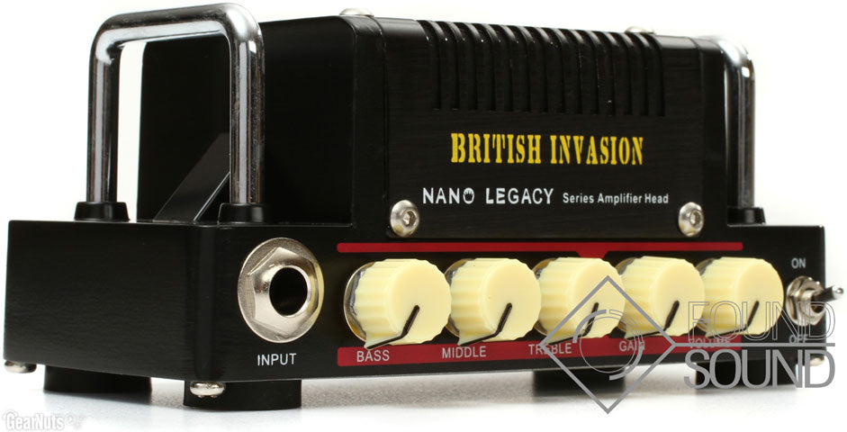 Hotone British Invasion Amp Head