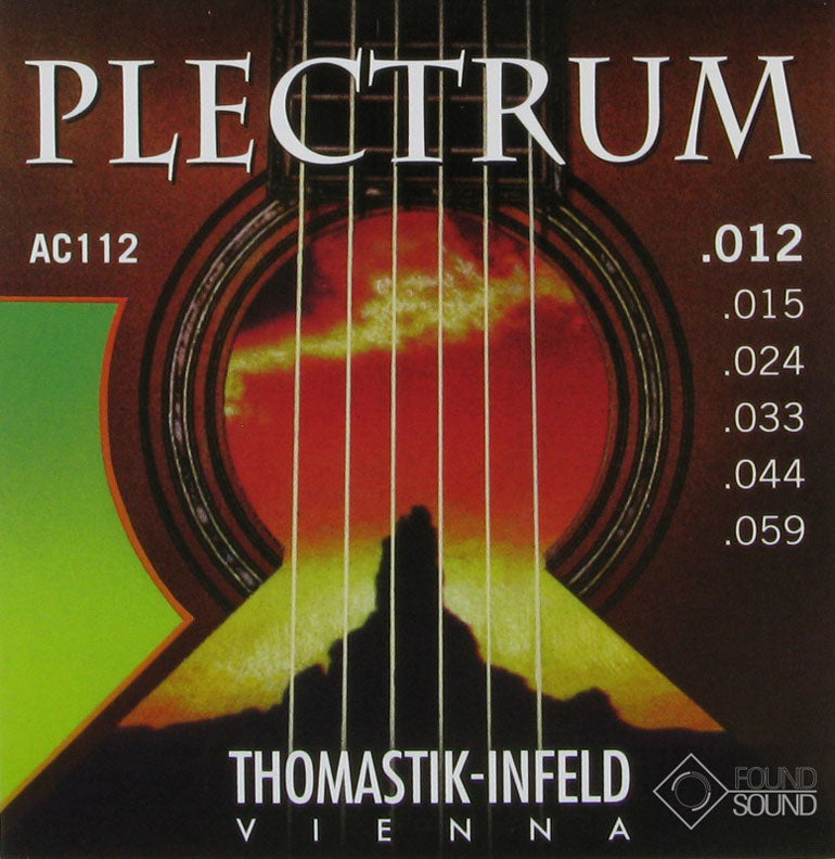 Thomastik-Infeld AC112 Plectrum Acoustic Guitar Strings