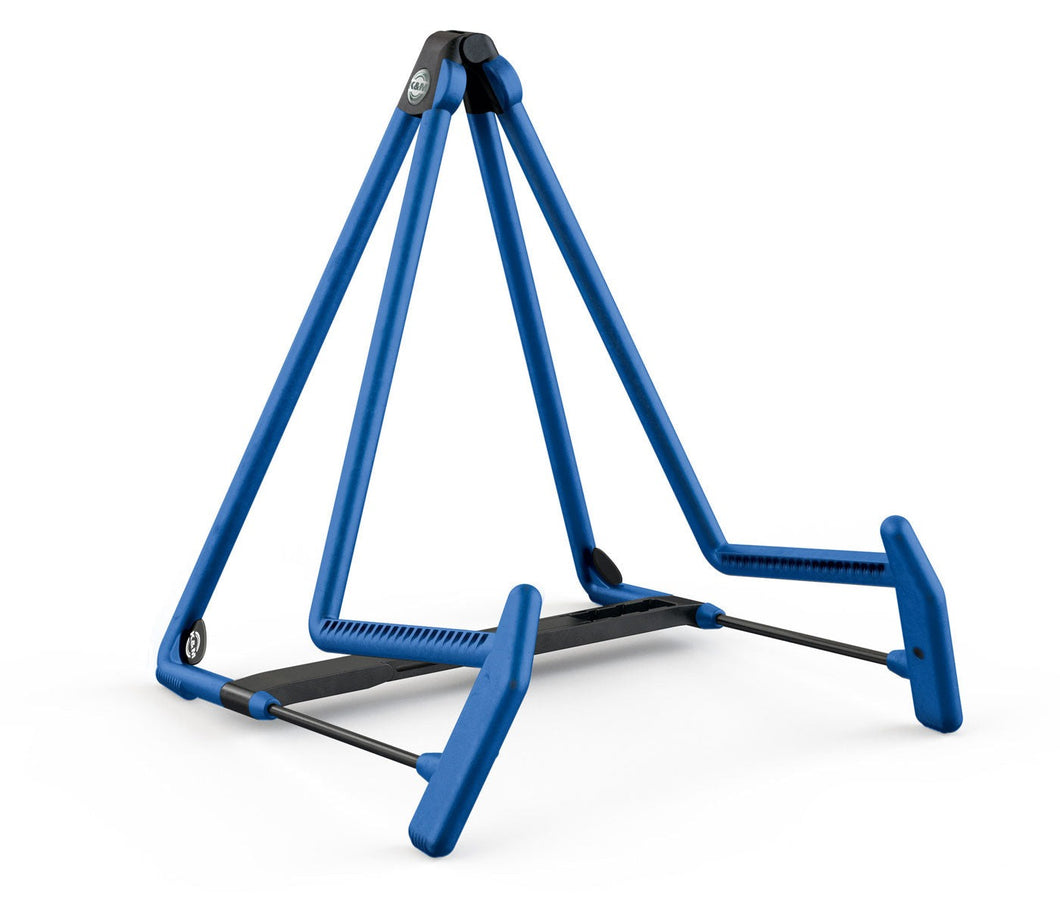 König & Meyer 17580 Blue Heli-2 Acoustic Guitar Stand