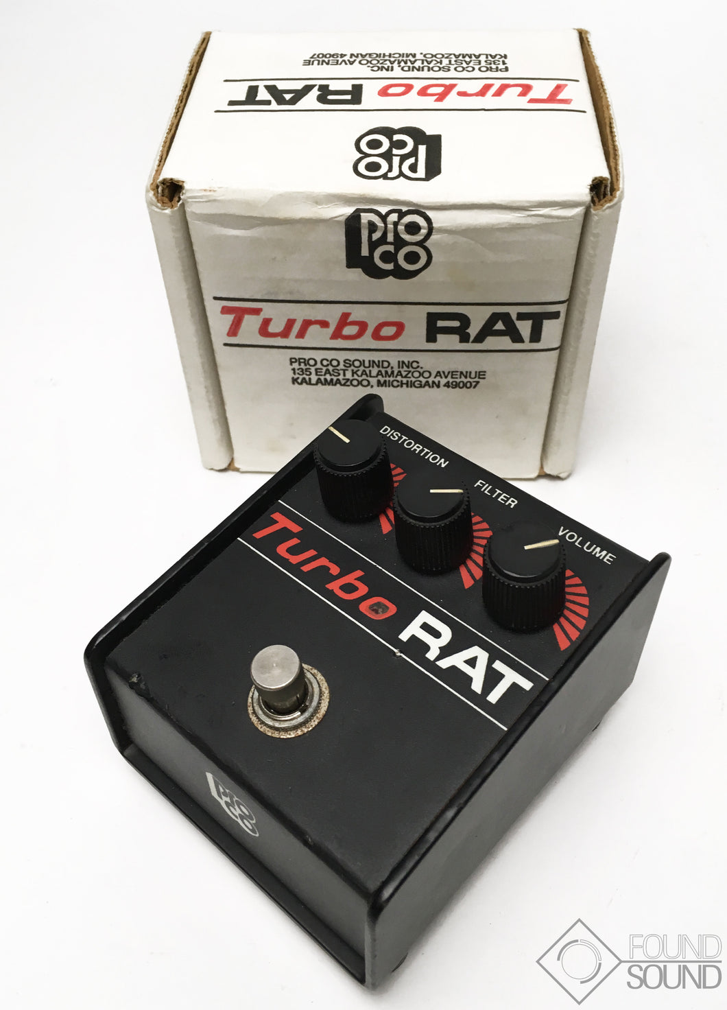 Pro Co Turbo Rat