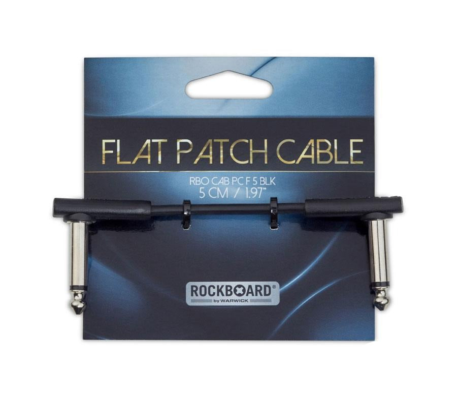 Warwick Rockboard 5cm Flat Patch Cable
