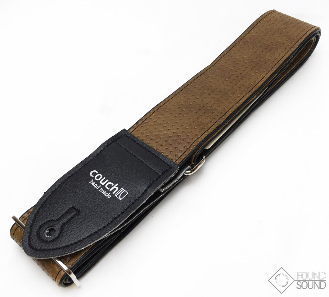 Couch Straps Vintage Brown VW Guitar Strap