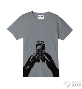 "Teenage Engineering ""PO-12"" Tee Grey"