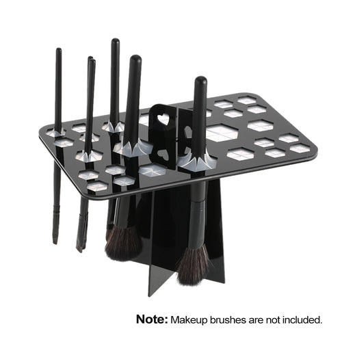Makeup Brush Organizer and Drying Stand