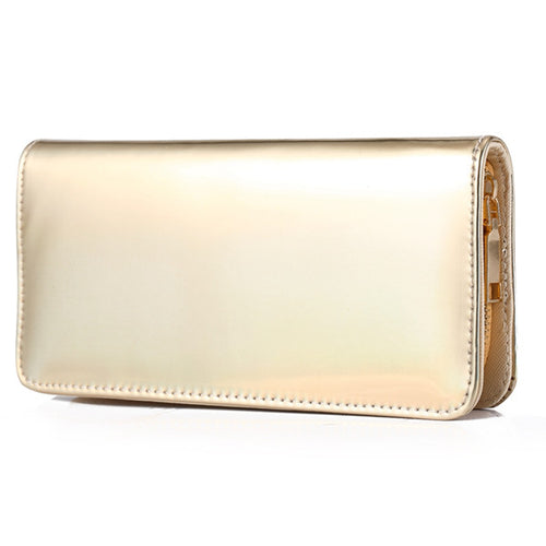 Gold Wallet Clutch