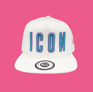 Grooveman Music Hats Icon Outline Snapback Hat