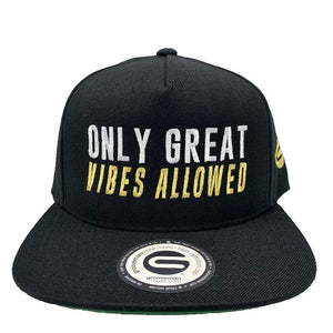Grooveman Music Hats One Size / Black Only Great Vibes Allowed Snapback Hat