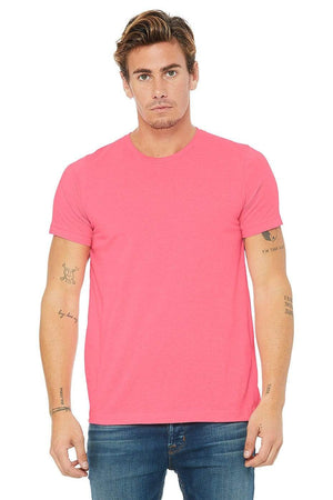 Grooveman Music T Shirt Poly-Cotton Short Sleeve Pink