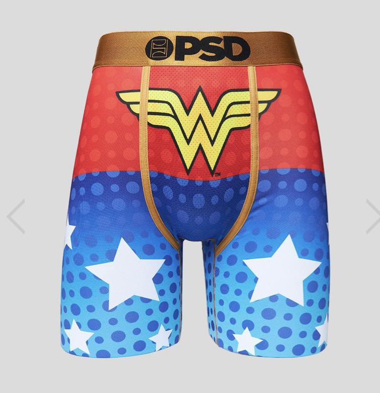 PSD Underwear Underwear DC Wonder Woman Boxer Brief