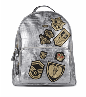 Reason Clothing Bags Backpack / Silver Richmond Patches Backpack