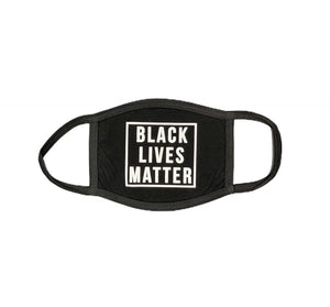Rebel Groove Face Mask One Size / Black Black Lives Matter Face Mask