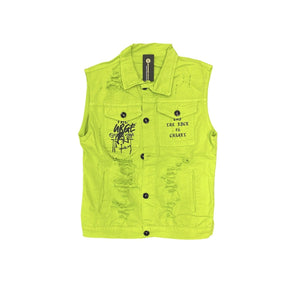 Rebel Groove Jackets Kiwi James Sleeveless Jacket
