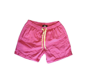 Rebel Groove Shorts Neon Pink Swim Shorts