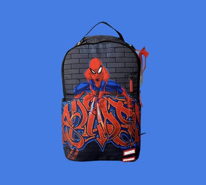Sprayground Bags Backpack / Multi Sprayground  | Spiderman wildstyle backpack