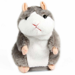 Sassy Talking Hamster Mimicry Stuffed Plush Toy Electronic Sound