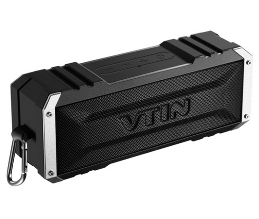 VTIN Portable Waterproof Bluetooth 4.0 Speaker with Mic for Smartphones