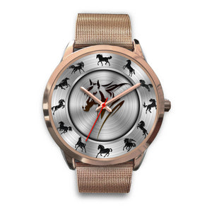 Lovely Design Horse Rose Watch - Limited Edition