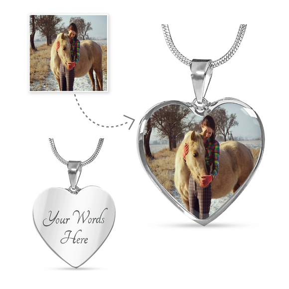 Love Horse Necklace