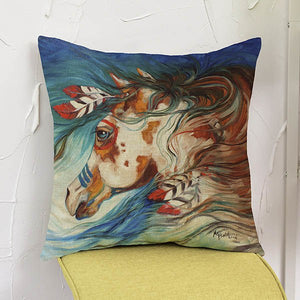 Hight Quality 3D Horse Cushion Cover for Home