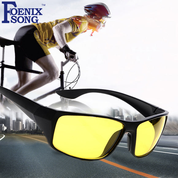 Unisex Night Vision Sunglasses for Cycling