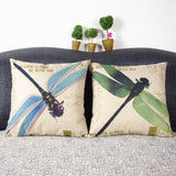Dragonfly Seat Cushion Without Core for Your Home 45*45cm