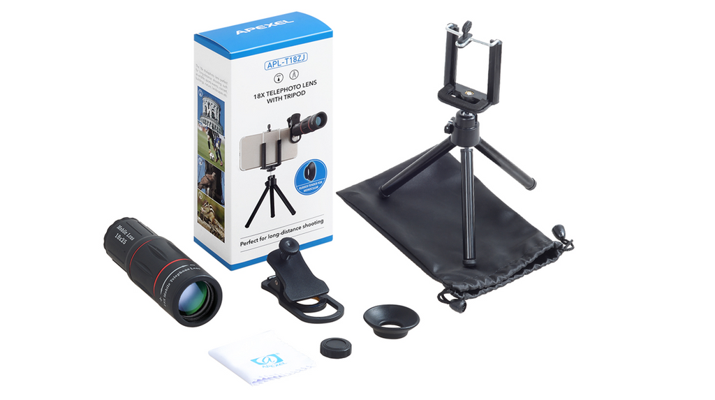 Telescope zoom mobile phone lens for iphone samsung