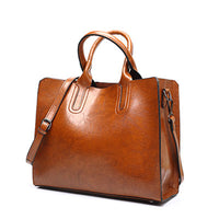 Leather Casual Tote High Quality Designer Women's Shoulder/Hand bag