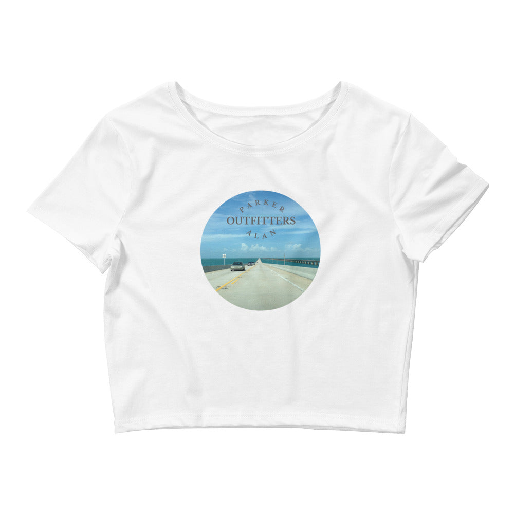 Island Hopping Women's Crop Tee