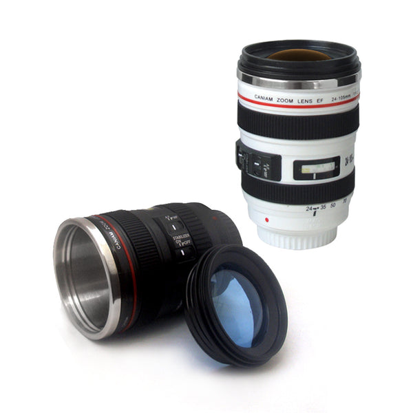 HOT Trending Camera Lens Coffee Mug Generation of Creative With Lid High Quality