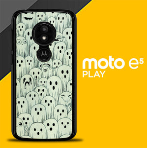 Cute Ghosts L0338 Motorola Moto E5 Play / Moto E Play (5th Edition) / Moto  E5 Cruise Case