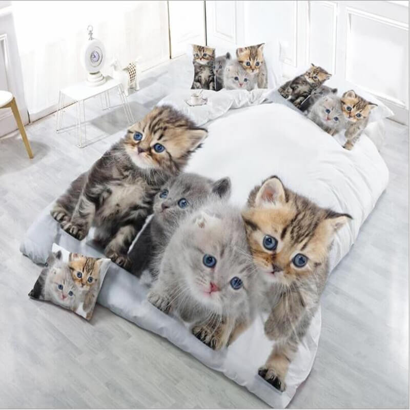3D Cat Bed set