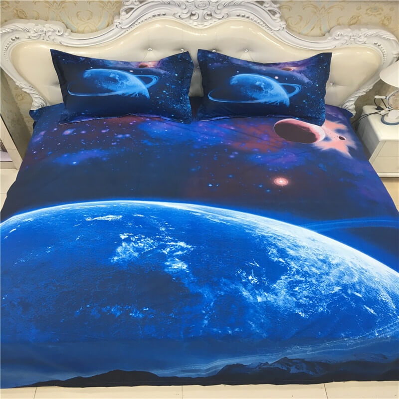 3D galaxy luxury sheet sets