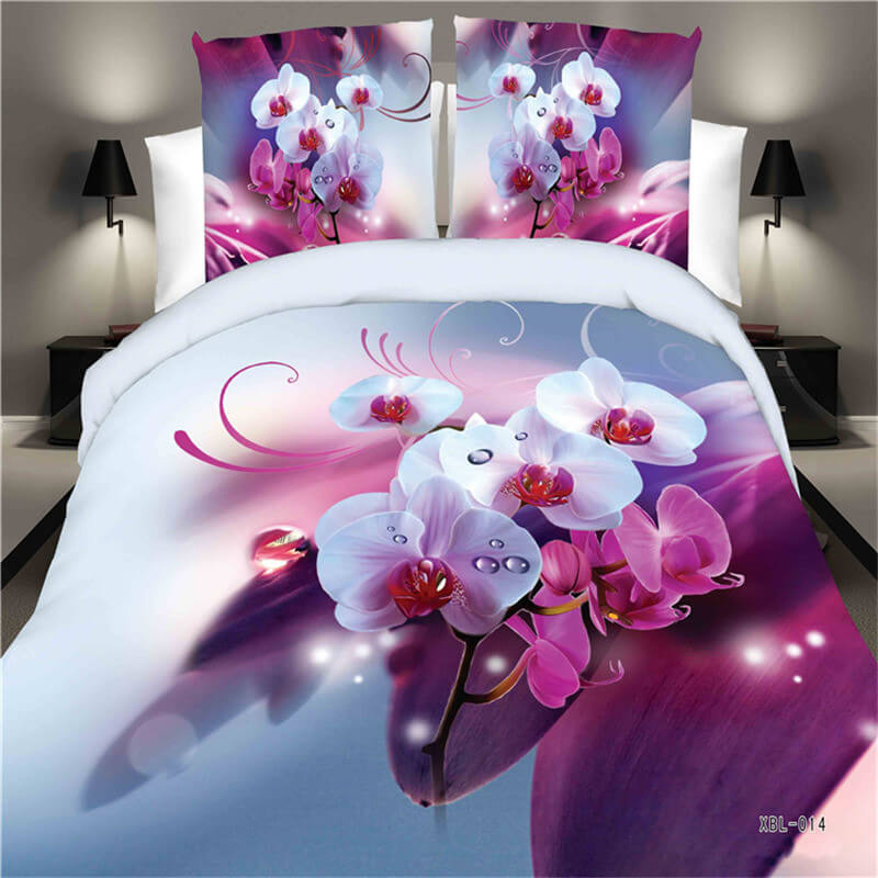 3D patterned fitted bed sheets