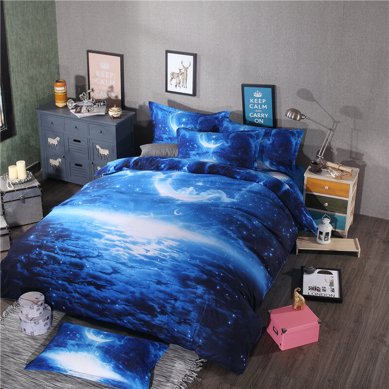 3d bedding galaxy