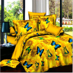 3d butterfly bedding sheet