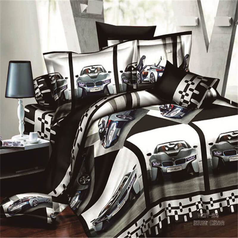 3d car bedding