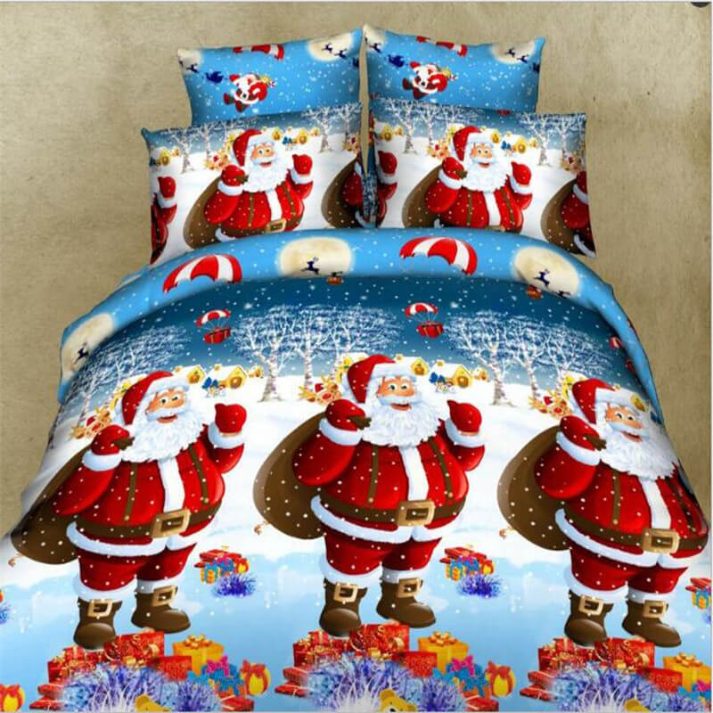 3d christmas bedding