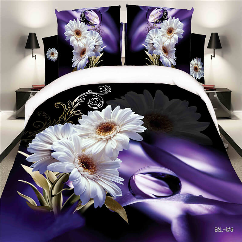 3d sunflower bedding sheets
