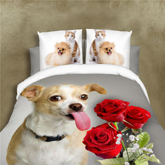 animal dog bedding sets for adults