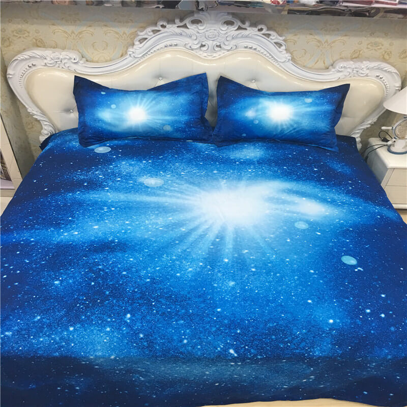 bed linen brands 3d galaxy sheets
