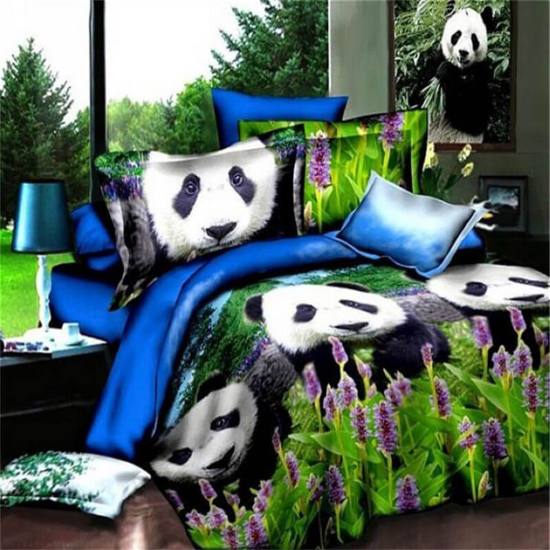 panda bed sheet online