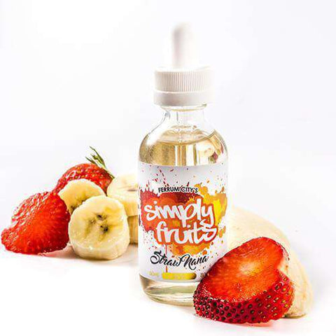 Simply Fruits eLiquid - Strawnana