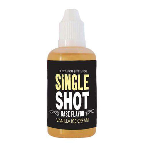 Single Shot eJuice - Vanilla Ice Cream
