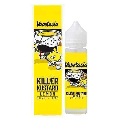 Vapetasia eJuice - Killer Kustard - Lemon