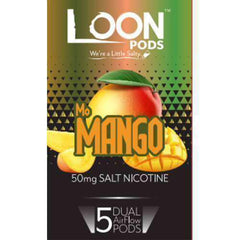Loon Pods - Juul Compatible Refill Pod - Mo Mango (5 Pack)