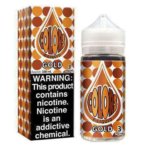 Colors eLiquid - Gold