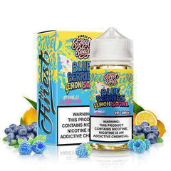 Sweet & Sour Eliquids - Blue Berries Lemon Swirl