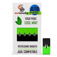 EON Pods - JUUL Compatible Refill Pod - Cool Mint (4 Pack)