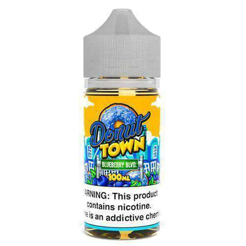 Donut Town eLiquid - Blueberry Boulevard